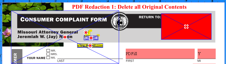 what is redaction in pdf