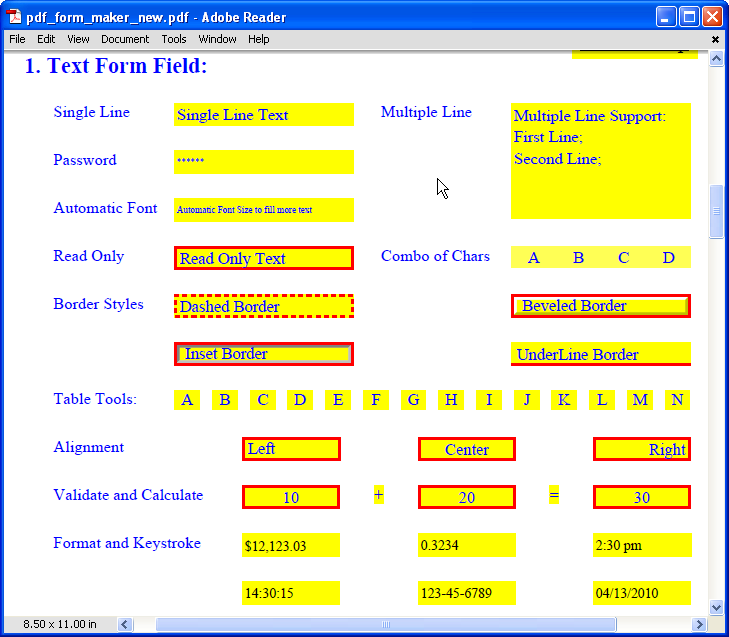 PDFill PDF Form Maker: Create Fillable and Savable PDF Form Field