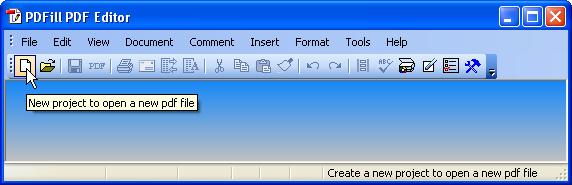 Quick Start On PDFill PDF Editor