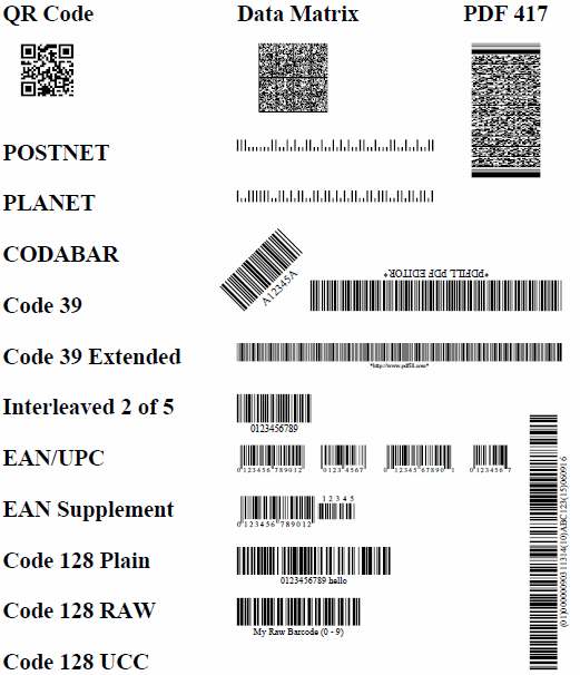 How to Insert a Code 128 Barcode into PDF Page