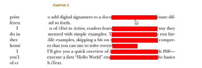 PDFill PDF Redaction & PDF Eraser to remove sensitive content