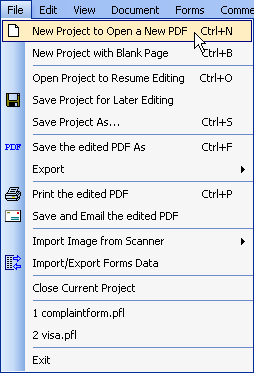 how to insert new blank pdf pages