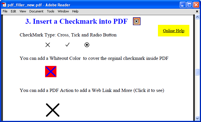 How To Type A Checkmark On Pdf Document