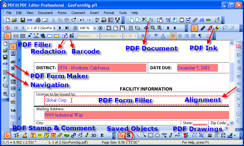 pdf add watermark acrobat free