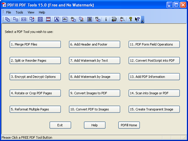 FREE PDF Tools to Merge, Split, Encrypt, Rotate, Crop